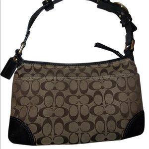 Coach Women's Signature designer hobo Bag